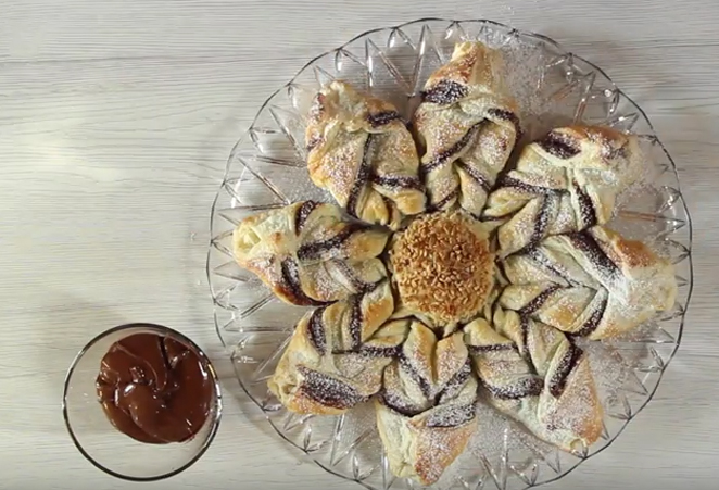 Video ricetta Girasole con crema spalmabile Solidal Coop