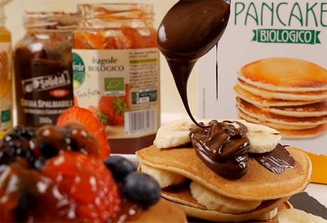 Video ricetta pancake d'Osa Coop